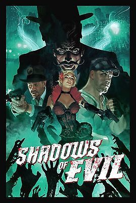 """Call of Duty Black Ops 3 Shadows of Evil Zombie Poster Size 13x20"""" 24x36"""" 32x48"""""""