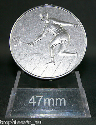 NEW Male Squash Silver Medal + Presentation Case 50% OFF RRP