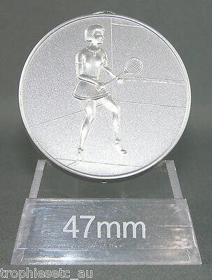 NEW Female Squash Silver Medal + Presentation Case 50% OFF RRP