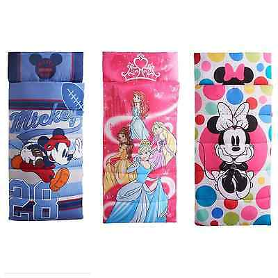 """Disney's 66"""" x 30"""" Sleeping Bags By Jumping Beans: Assorted Styles Free S&H"""