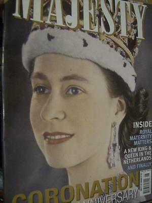 Majesty Magazine V34 #6 Queen 60th Anniversary Of Coronation Special Issue/Royal