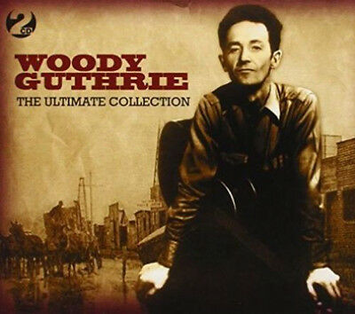 WOODY GUTHRIE  50 Greatest Hits* NEW 2-CD BOX SET * All Original Recordings *