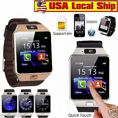 DZ09 Bluetooth Smart Watch Multifunction Sport GSM SIM Card For Android Phone
