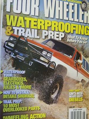 Four Wheeler Magazine June 2007 Waterproofing/Trail Prep/Installing Intake Snork
