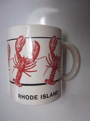 Unused RI Rhode Island Lobster Mug