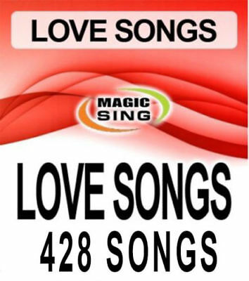 "MAGIC SING ""LOVE SONG"" Song Chip - 428 English Love Songs WITH SONG LIST"