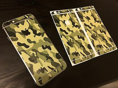 Apple Iphone 6 body sticker protective luxury film camouflage military 4 hunter