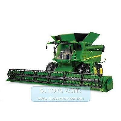 Kids John Deere S670 Combine Big Farm Tractor Toy 1:16 Scale Interactive Vehicle
