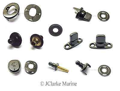 Military black oxide Turnbutton & Lift the Dot fastener boat canvas cover
