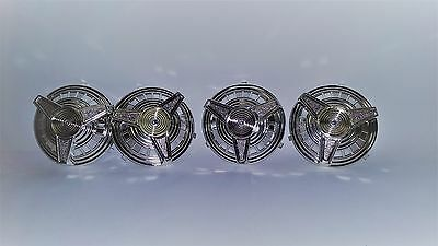 Pedal Car Parts   Set of 4 AMF Pedal Car Spinner Hubcaps
