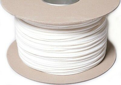 7Mm White Washable Piping Cord, Upholstery Etc, Available In Different Lengths