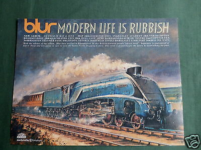 Blur- Magazine Clipping / Cutting- 1 Page Advertisement