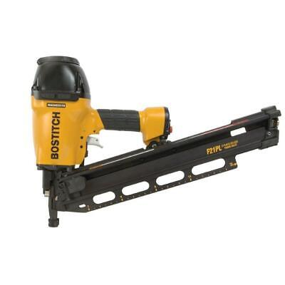 "Bostitch F21PL 1-1/2"" to 3-1/2"" Framing Nailer with Positive Placement Tip"
