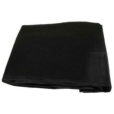 Black Mesh 6x10 Heavy Duty UV Screen Shade Canopy Patio Yard Tarp Sun Cover