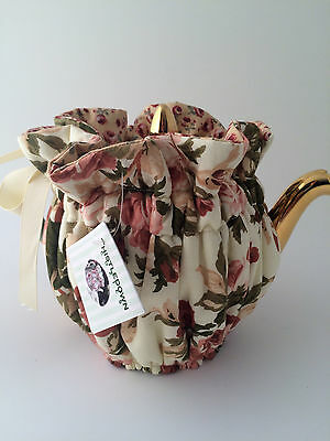 Thistledown Dusty Bouquet Wrap Around Reversible TEA COZIE NWT For 6 cup Teapot