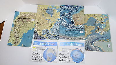 """National Geographic Map Set - """"Oceans of the World"""" (M1)"""