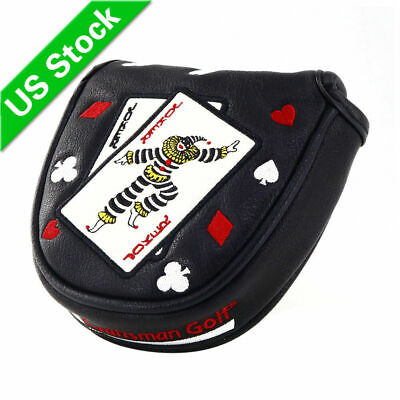 CRAFTSMAN Center Shaft Putter Cover Mallet Headcover For PXG Taylormade ODYSSEY