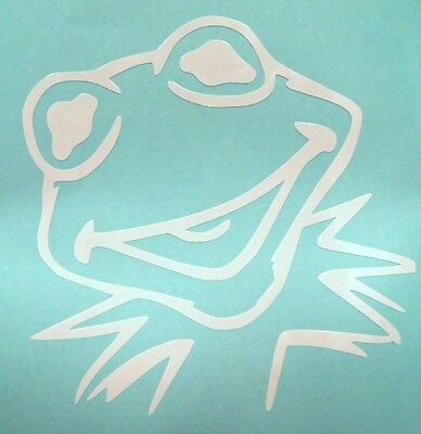 Kermit the Frog Muppets Cool Car Window Vinyl Decal Sticker Choose 12 Colors