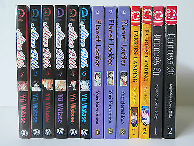 Lot of 20 Manga Alice 19th Vol. 1-6 ,Chobits Vol. 1-7 + More
