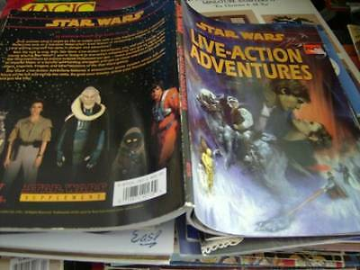 Star Wars Live-Action Adventures Role Playing Module Book