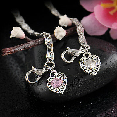 Hot Popular Love Heart Pearl Jewelry Fashion Cute Charm Bracelets Anklet Gifts