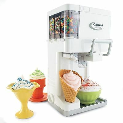 Soft Serve Ice Cream Maker Countertop Machine Electric Kitchen Frozen Yogurt NEW