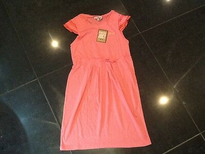 NWT Juicy Couture New & Gen. Girls Age 8 Peach Soft Cotton Dress With Juicy Logo