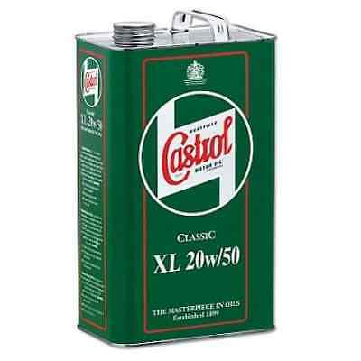 Castrol Classic Car & Motorcycles XL SAE 20W50 Engine Oil  1 GALLON (4.5 LITRES)