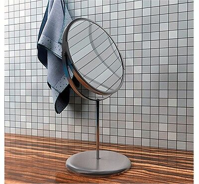 IKEA TRENSUM Stainless Steel 2-Sided Bathroom Magnifying Makeup Shaving Mirror