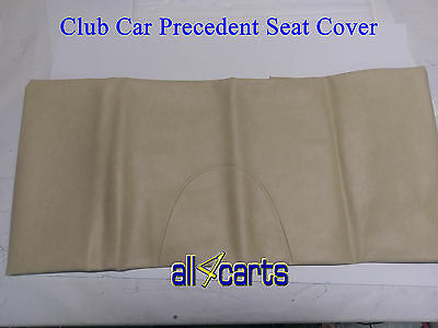 SET OF Club Car Precedent Seat Covers | Beige | Buff | Tan | Golf Cart 2004 Up