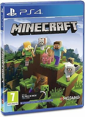 Minecraft En Castellano Cd Fisico Nuevo Precintado Ps4