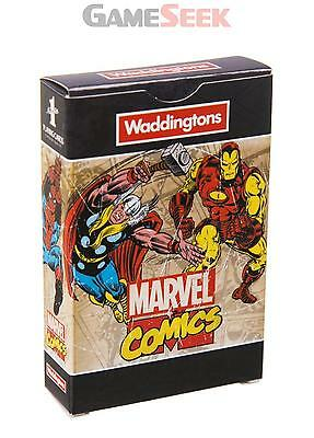 Waddingtons Marvel Retro Comics Playing Cards - Games/puzzles Card Games New