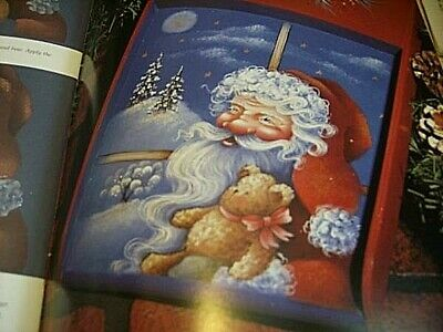 Reflections Of The Heart Painting Book #1- Bond- Santa Christmas Eve, Starry Nig