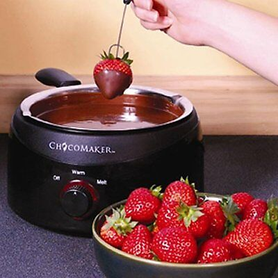 Fondue Set Chocolate Candy Melter By Chocomaker Inc. 2 LB Capacity