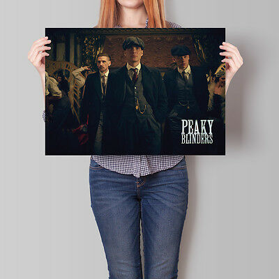 Peaky Blinders Poster TV Show Cast Promo Cillian Murphy A2 A3 A4