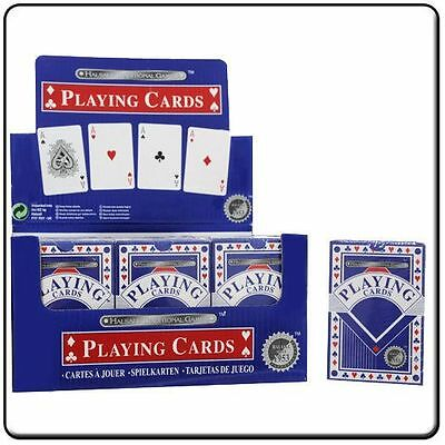 Traditional playing cards 52 plastic coated quality cards security sealed pack