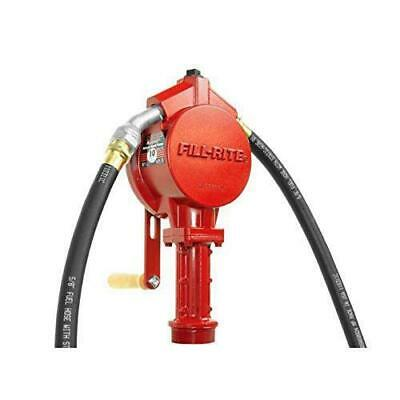 Fill-Rite FR112 20 - 34-1/2-Inch 10-GPM Telescoping Pipe Rotary Hand Pump