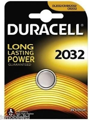 Duracell CR2032 3V Lithium Button Battery Coin Cell DL2032 FAST + FREE POSTAGE