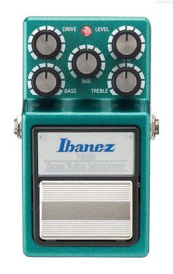 NEW IBANEZ TS9B  BASS TUBE SCREAMER OVERDRIVE PEDAL w/ FREE CABLE 0$ US SHIPPING