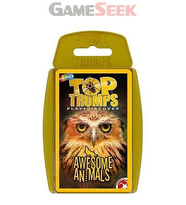 Top Trumps - Awesome Animals - Toys/games Card Games Brand New Free Delivery