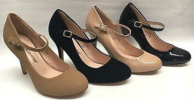 NEW Womens Blossom Swiss1 Mary Jane Pumps Strappy Heels WEDDING PAGEANT Shoes