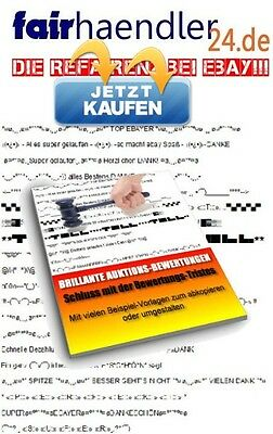 BRILLIANTE EBAY AUKTIONSBEWERTUNGEN Amazon Hood eBook Auktion Bewertung E-LIZENZ