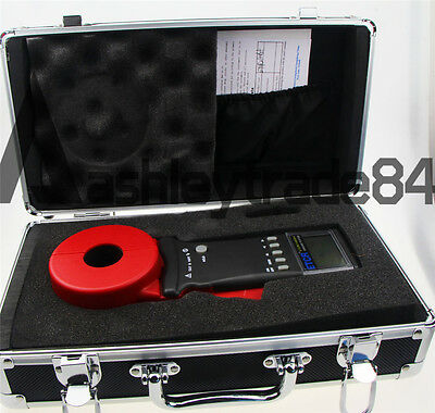 ETCR2100A+ Digital Clamp On Ground Earth Resistance Tester Meter NEW