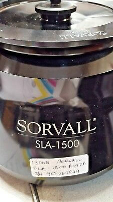 Sorvall  H1000 Rotor-3600 Rpm -With 12,19 And 27 Place Buckets (Item#2174;/17)