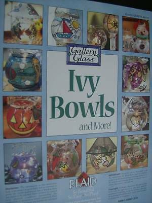 Gallery Glass Ivy Bowls & More Stained Glass Craft Book-25 Projects