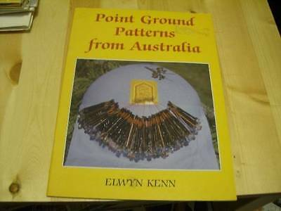 Point Ground Patterns From Australia Lace Making Craft Book- Elwyn Kenn