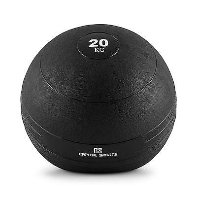 Capital Sports Slamball 20 Kg No Bounce Fitness Gummi Gewichts Medizin Wall Ball