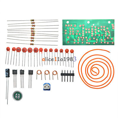 DC 1.5V-9V FM Wireless Microphone DIY Electronic Learning Kits 80MHz-108MHz