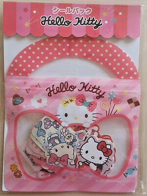 Sanrio Original Hello Kitty Sticker Sack Pack kawaii stickers flakes Japan