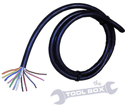 12 Core Caravan - Trailer Cable for 13 pin connectors and towing electrics